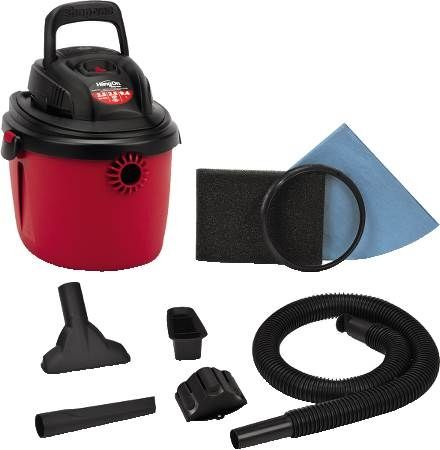 2.5 Gallon Quiet Deluxe Handheld Wet/Dry Vacuum