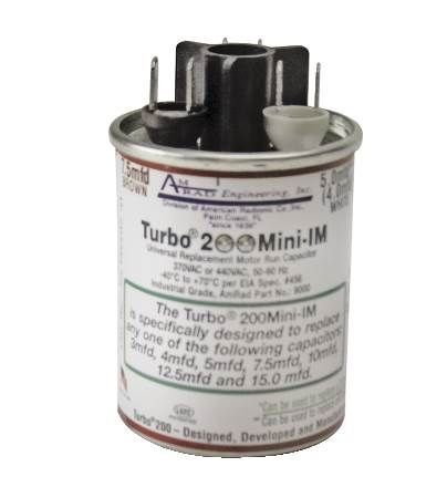 Turbo™ 200 Mini Universal Replacement Capacitor
