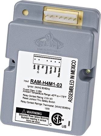 RAM 1-2-3 Direct Spark Igntion Control