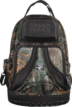9-Pocket Tradesman Pro Camouflage Backpack
