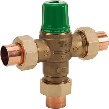 Lead Free Thermostatic Mixing Valves A.S.S.E 1017 Certified