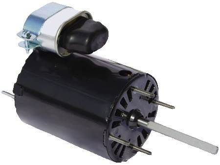 "Reznor Unit Heater Motor PSC, 3-3/8"", Open Enclosure"