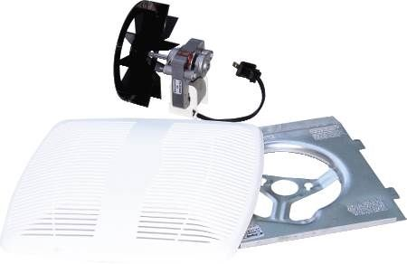 Advantage Series Exhaust Fan Contractor Pack Motor/Blade/Grill for AS50