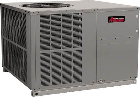 Single Packaged Heat Pump 13 SEER, Single-Phase, 5 Ton, R410A, Horizontal