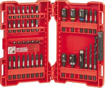 SHOCKWAVE™ 40-Piece Drill and Drive Bit Set