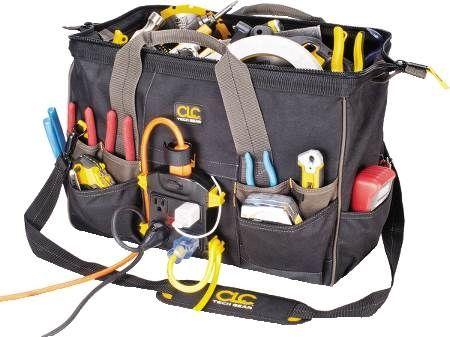 34-Pocket Tech Gear™ Power Distribution Tool Bag
