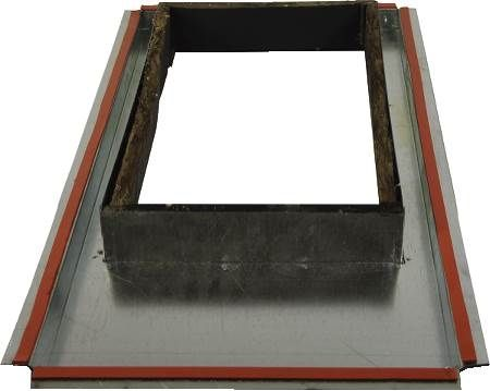 "21"" COMBUSTIBLE FLOOR BASE"