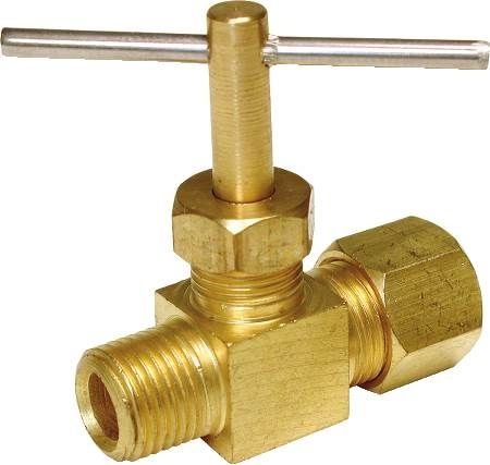 "Low Lead 1/4"" Water Straight Valve"