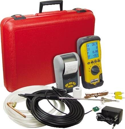 Combustion Analyzer with EOS Sensor Technology