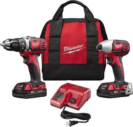 M18™ Lithium-Ion Cordless Drill/Driver and Hex Impact Driver Combo Kit
