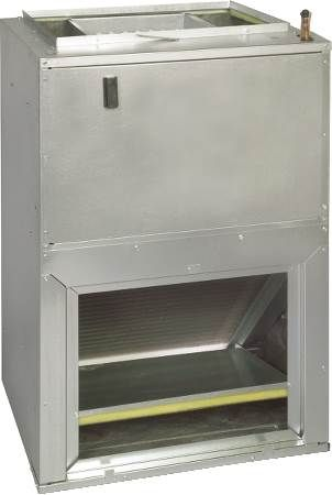 Vertical Wall Mount Air Handler With Electric Heat
