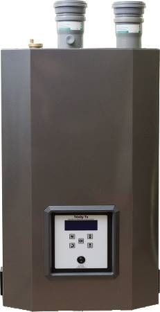 Gas Fired Hot Water Boiler Trinity Series, Condensing, Ultra High Efficiency