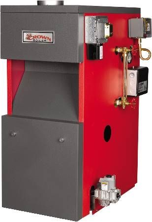 Bermuda Gas Fired Cast Iron Steam Boiler BSI series