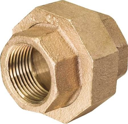 "3/4"" Brass Union Low Lead"