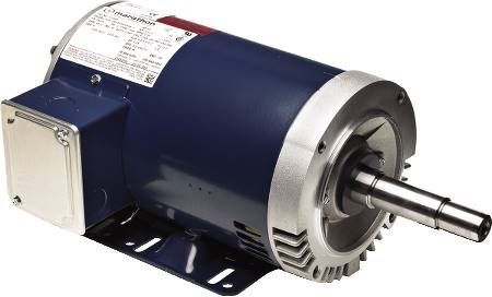 Globetrotter® NEMA Premium® Efficiency Three Phase Close Coupled Pump Motors