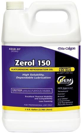 Refrigeration Oil, Zerol 150