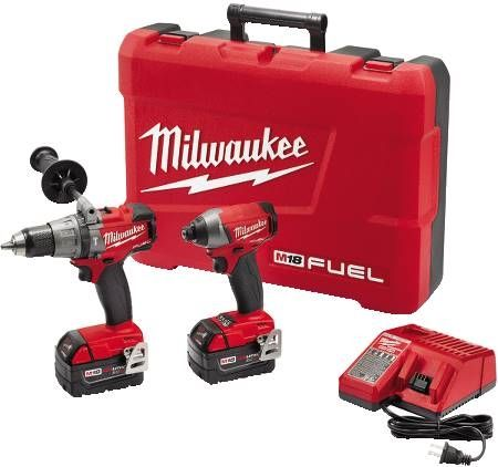 M18 FUEL™ Lithium-Ion Cordless Hammer Drill/Driver and Hex Impact Driver Combo Kit