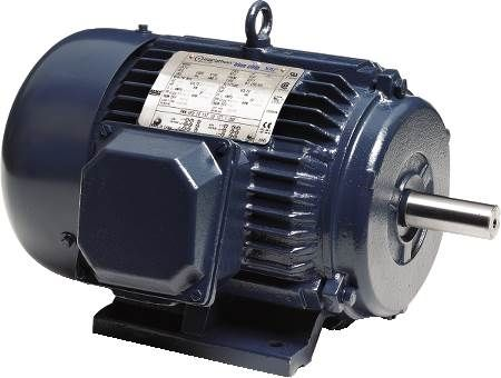 NEMA Premium General Purpose Motor with Internally Installed Shaft Grounding Ring