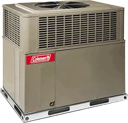 Single Packaged Gas/Heat Air Conditioner 14 SEER, Three-Phase, 5 Ton, R410, 81% AFUE