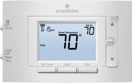 "Emerson 4.5"" Display Heat Pump Thermostat"
