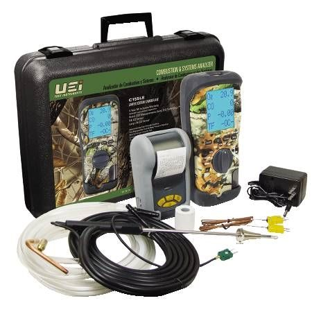 Eagle 2X Series Combustion Analyzer Kit with Printer