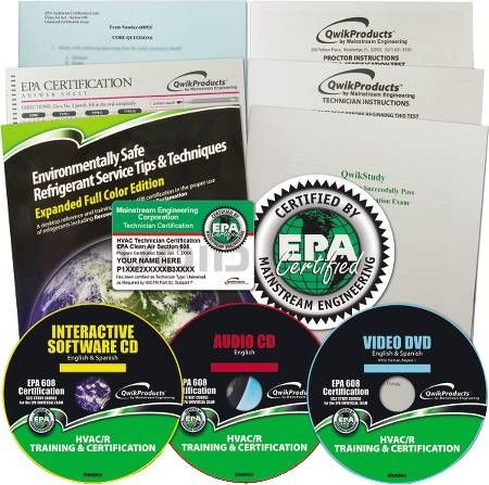 EPA Section 608 Study Course Qwik608™ | Tuggl
