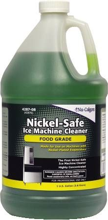 Nickel Safe Ice Machine Cleaner
