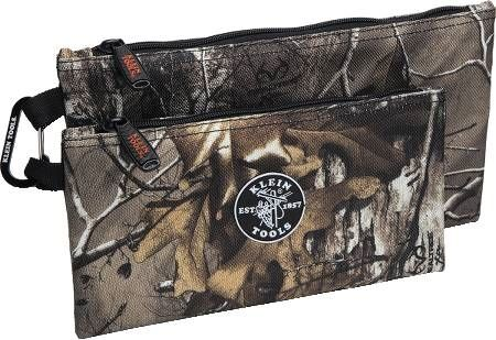 Camo Zipper Bag Set