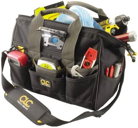 29-Pocket Tech Gear™ LED Lighted Tool Bag