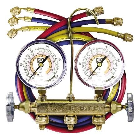 Patriot 2-Valve Manifold with LED Gauges