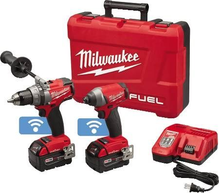 M18 FUEL™ Lithium-Ion Cordless Drill/Driver and Hex Impact Driver Combo Kit with ONE-KEY™