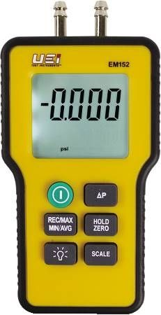 Dual Input Digital Manometer