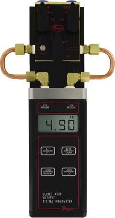 Wet/Wet Digital Manometer